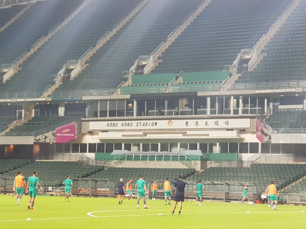 Team Melli in Hong Kong Stadium